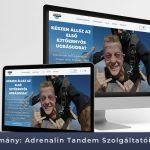 Adrenalin Tandem Szolgáltatói Weboldal – Esettanulmány